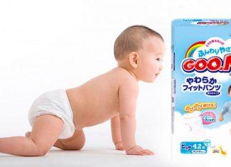 bỉm goon cho trẻ sơ sinh