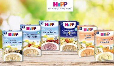 Thành phần chính và cách pha sữa Hipp đúng chuẩn