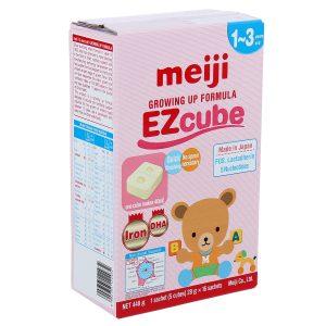 Sữa Meiji Growing Up Formula EZcube (448g) dạng thanh